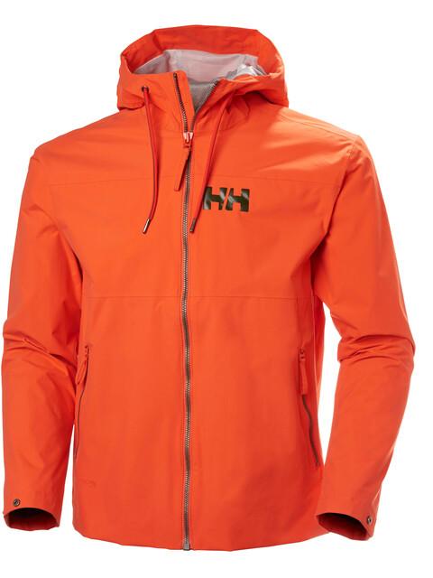 Helly Hansen M's Rigging Rain Jacket Pumpkin